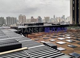 上海外滩金融中心屋面降噪工程