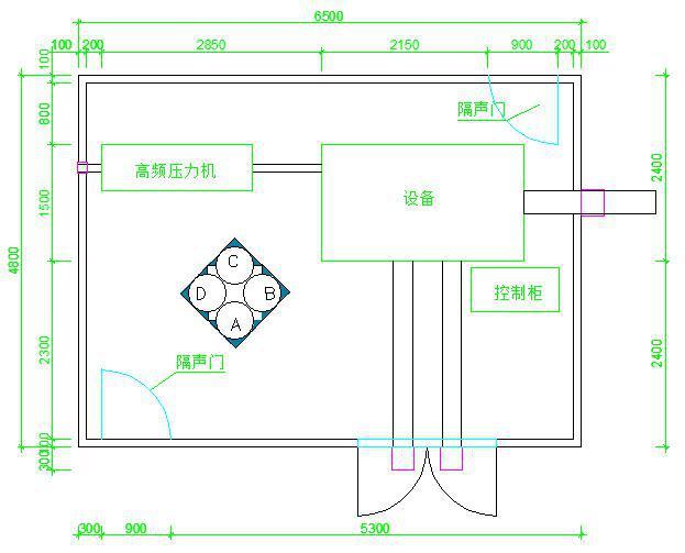 方案简介 根据业主要求及相关标准,设计通过隔声罩技术降低冲压机